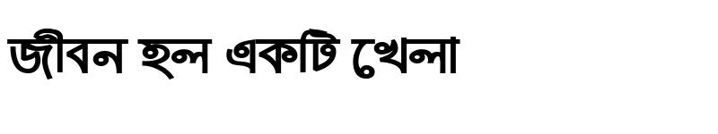 Preview of ArhialkhanMJ Bold