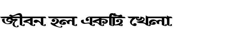 Preview of BurigangaSushreeMJ Bold