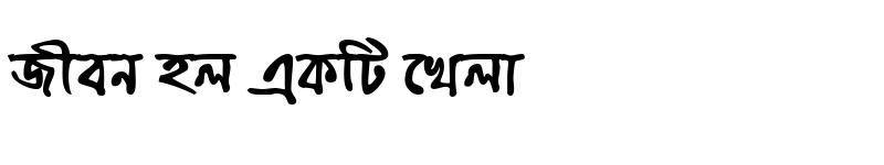 Preview of ChandrabatiMatraMJ Bold