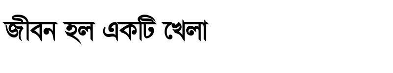 Preview of ChondanaMJ Bold