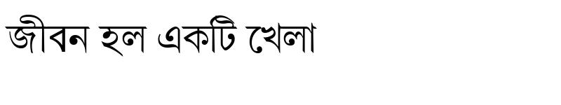 Preview of GangaSagarMJ Regular