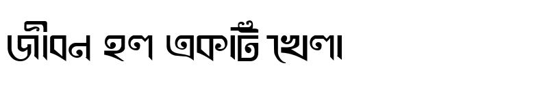 Preview of KhooaiMJ Bold