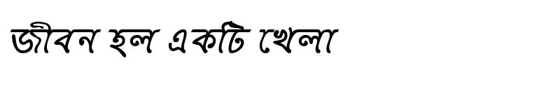 Preview of KirtinashaMJ Italic