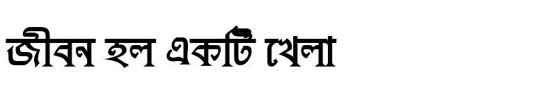 Preview of KushiaraMJ Bold