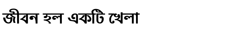 Preview of NobogongaMJ Bold