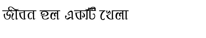 Preview of PadmaMJ Regular