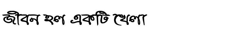 Preview of RupshaMJ Bold